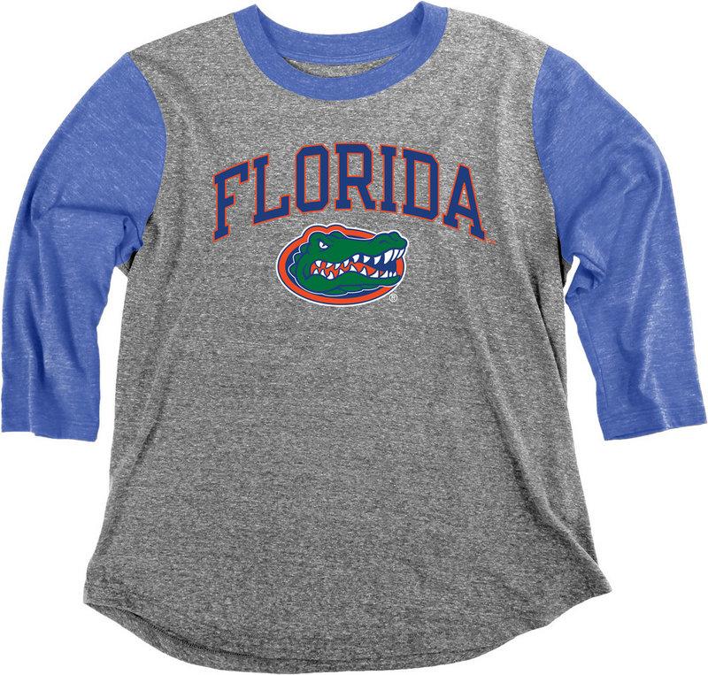 Florida Gators Womens 3/4th Sleeve Tshirt C73N-JTBB