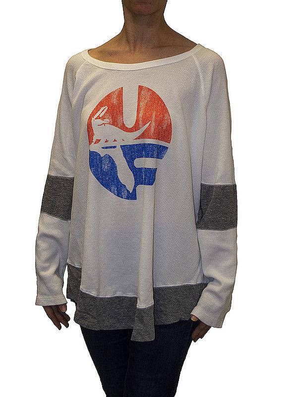 Florida Gators Womens Thermal Long Sleeve Shirt CFLA155R_RB1906M_STG