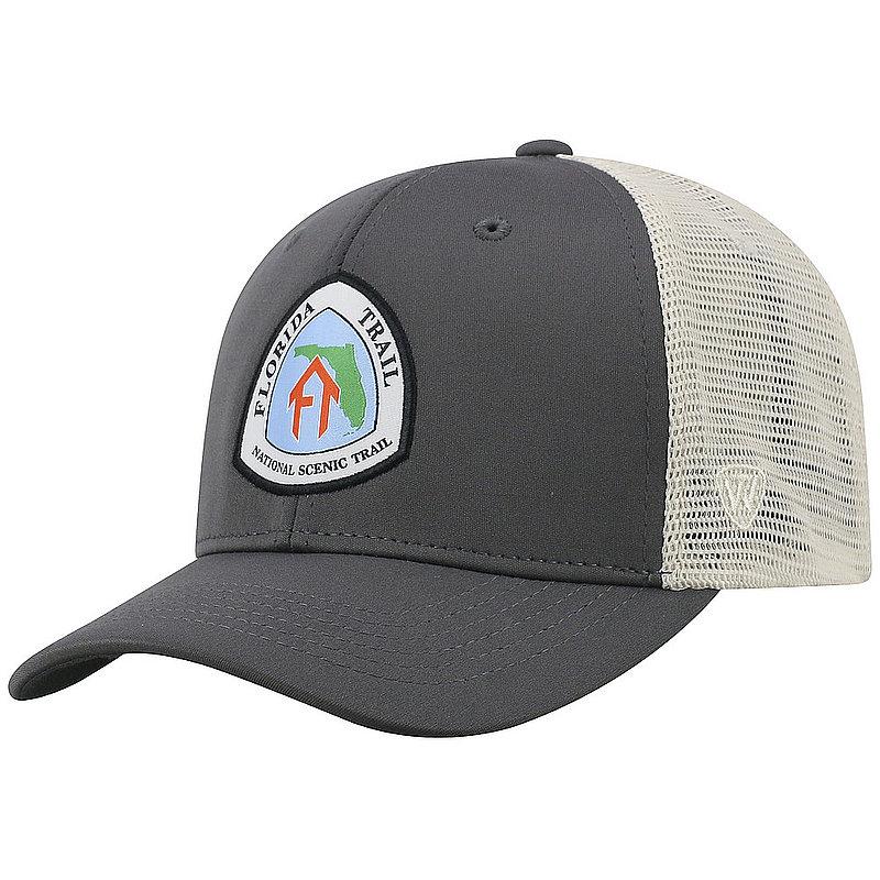 Florida National Trail Adjustable Charcoal Hat RANG1-FLT-ADJ-2TN