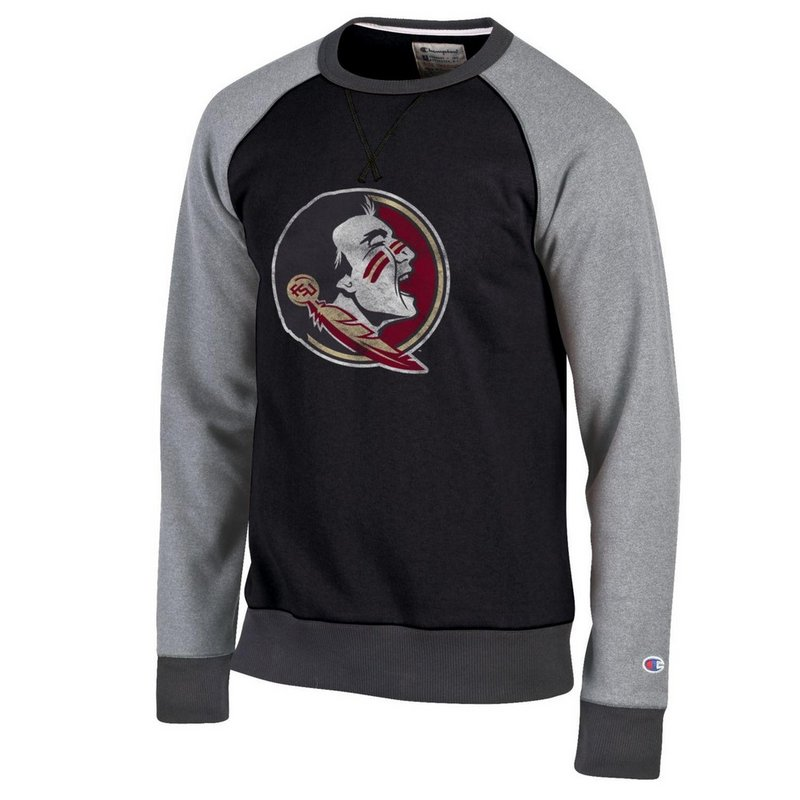 Florida State Seminoles Crewneck Sweatshirt Black