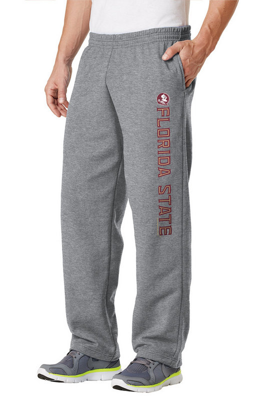 Florida State Seminoles Fleece Pants Captain Gray FSU38662