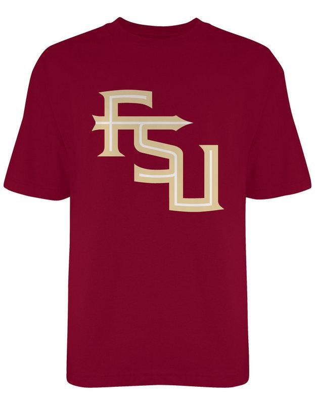 Florida State Seminoles FSU TShirt Interlock Garnet