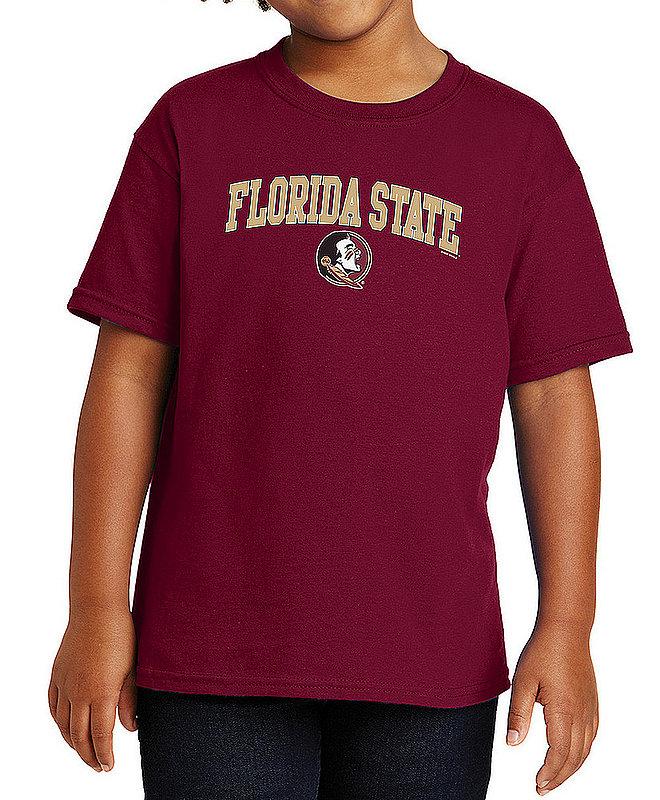 Florida State Seminoles Kids TShirt Varsity Garnet APC03008419