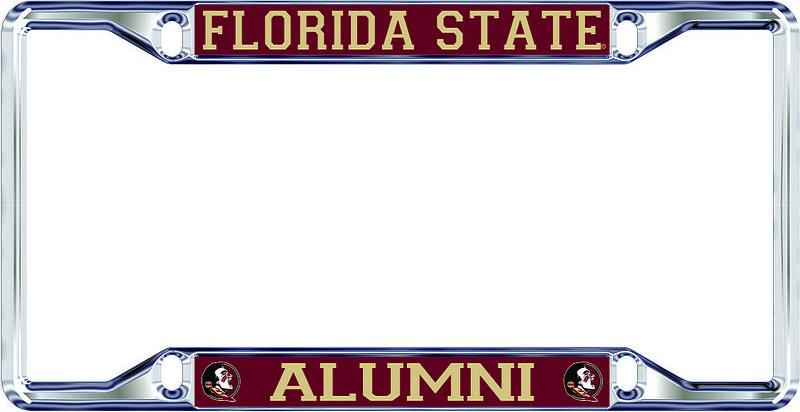 Florida State Seminoles License Plate Frame Alumni 17321
