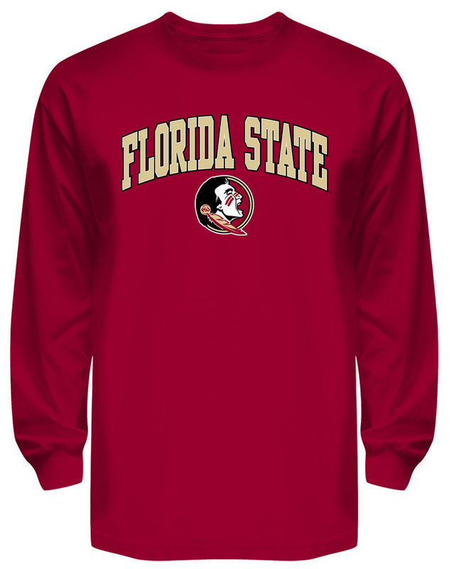 Florida State Seminoles Long Sleeve Shirt Varsity Garnet
