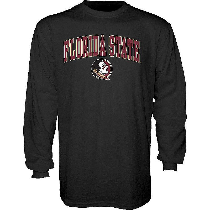 Florida State Seminoles Long Sleeve TShirt Varsity Black APC03006774