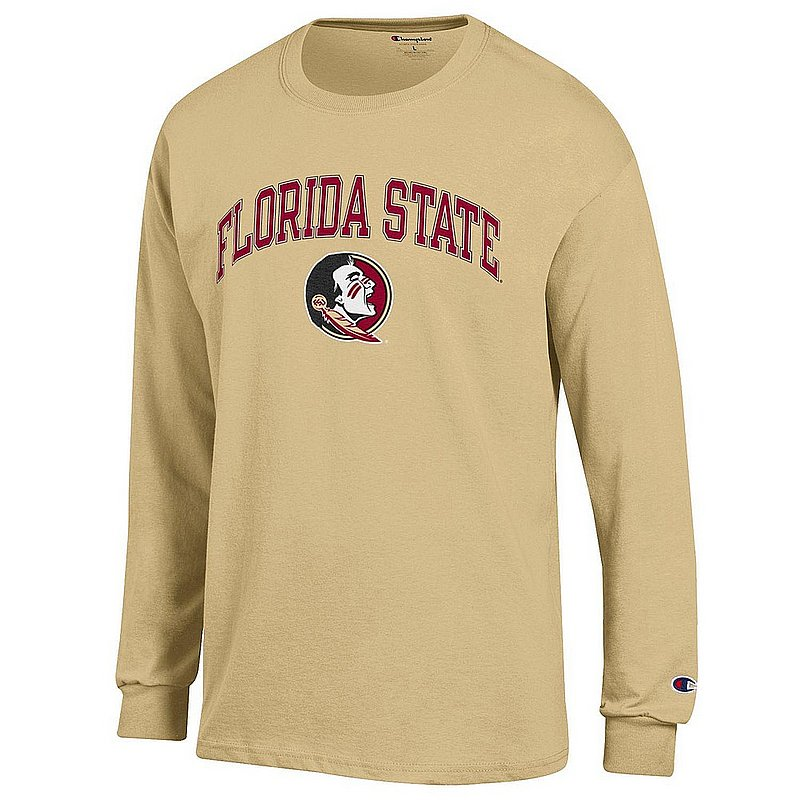 Florida State Seminoles Long Sleeve TShirt Varsity Gold APC03007047