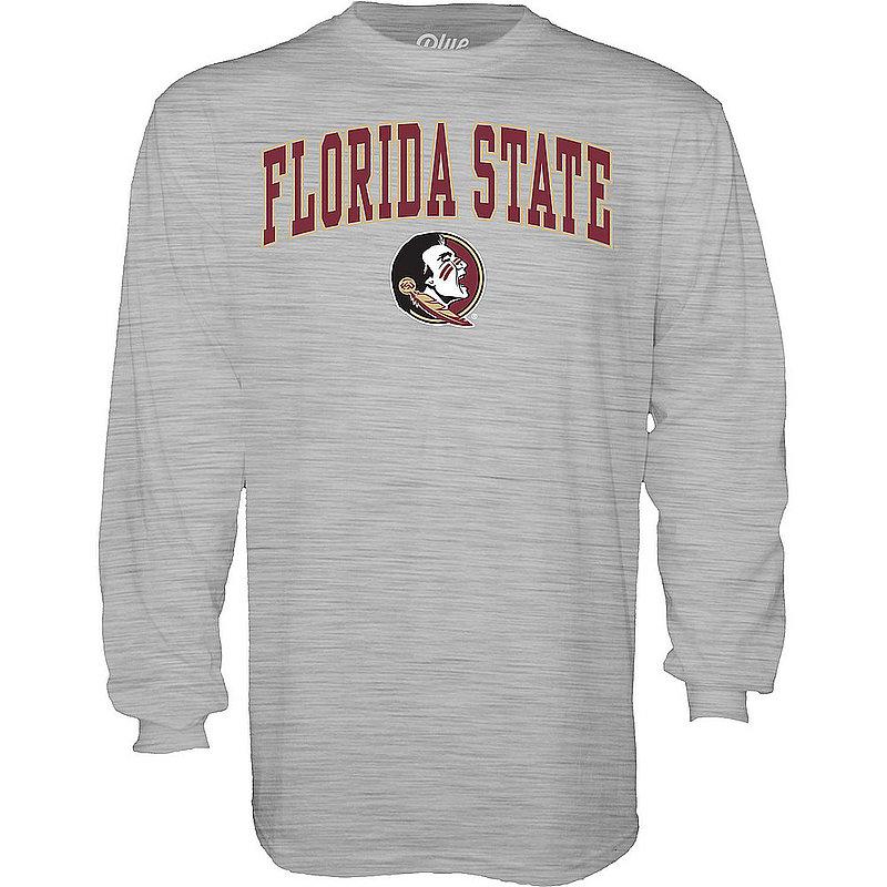Florida State Seminoles Long Sleeve TShirt Varsity Gray 00000000BCRDK
