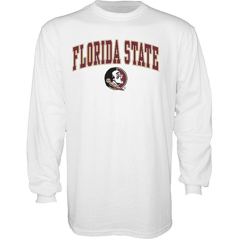 Florida State Seminoles Long Sleeve TShirt Varsity White APC03006350