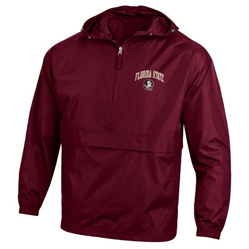 Florida State Seminoles Packable Jacket Garnet
