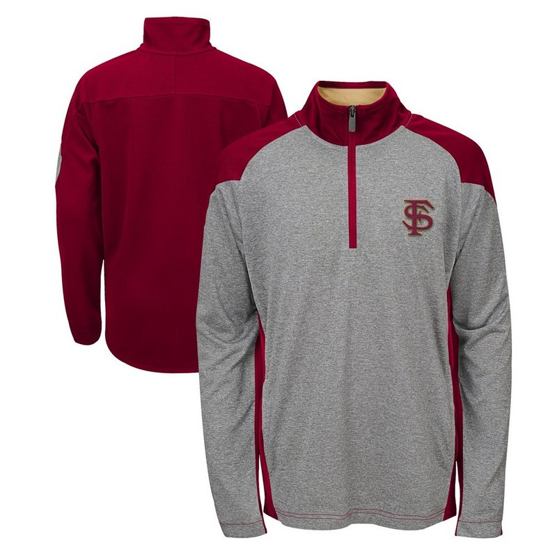 Florida State Seminoles Performance Quarter Zip Track Jacket 808RD