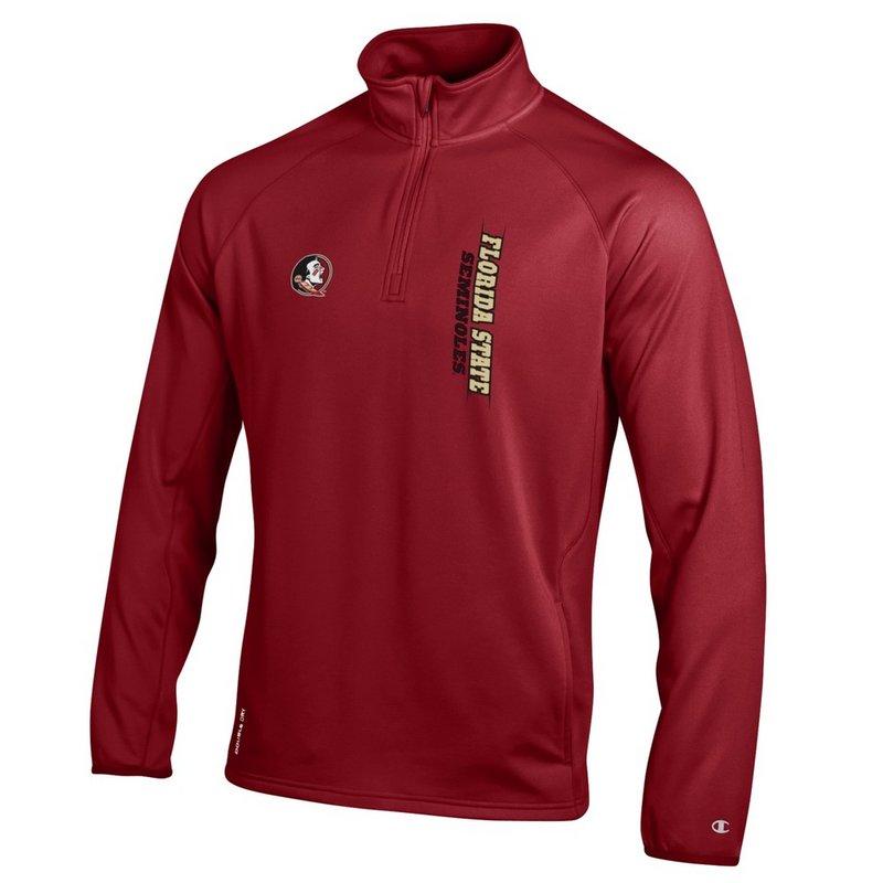 Florida State Seminoles Quarter Zip Sweatshirt Garnet APC02839841