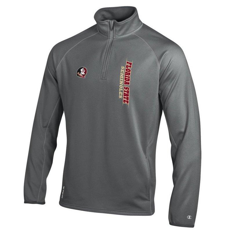 Florida State Seminoles Quarter Zip Sweatshirt Titanium APC02788535