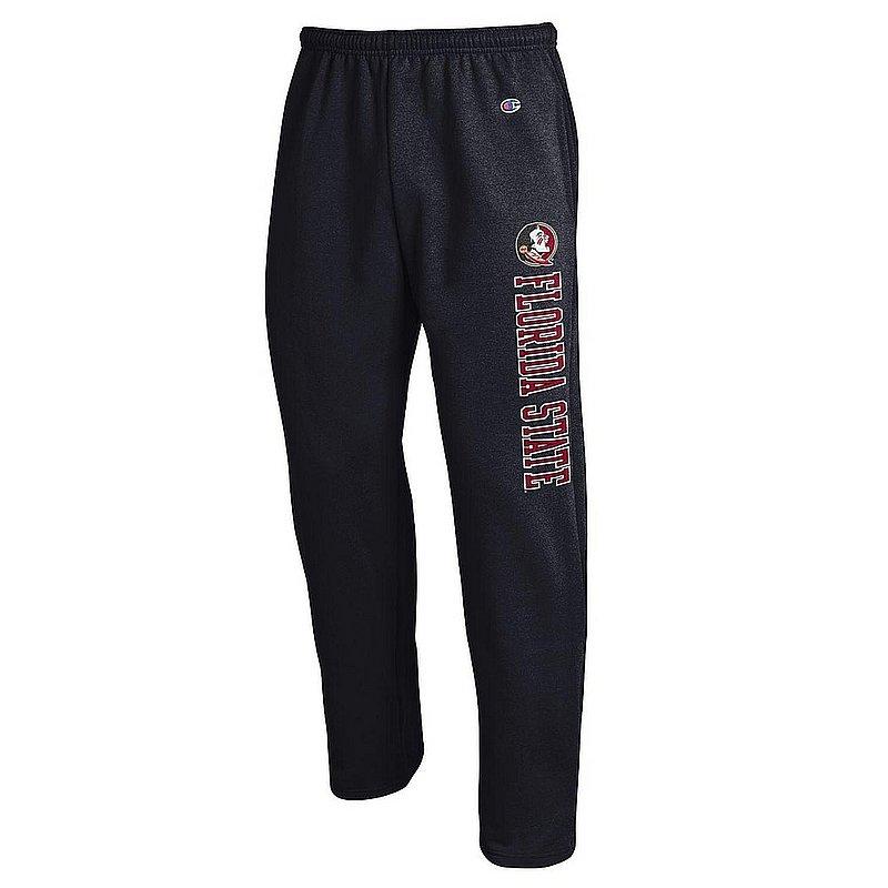 Florida State Seminoles Sweatpants Pockets Black APC02964371