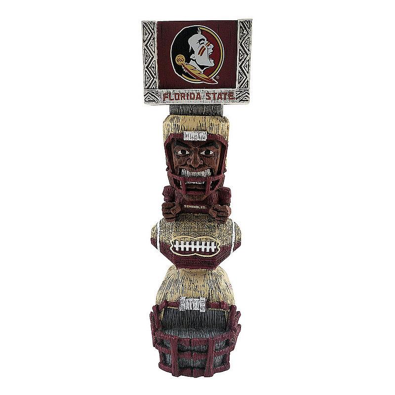 Florida State Seminoles Tiki Totem Figurine TKNCSTKFS