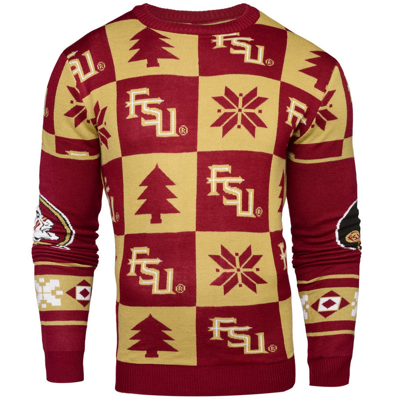 Florida State Seminoles Ugly Christmas Sweater SWTCNNC16PATFS
