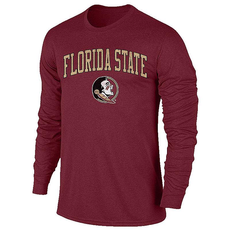 Florida State Seminoles Vintage Long Sleeve Tshirt Garnet Victory