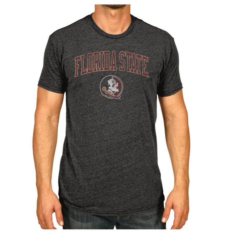 Florida State Seminoles Vintage Tshirt Charcoal Victory TV7051_FSUV1412B_HBK