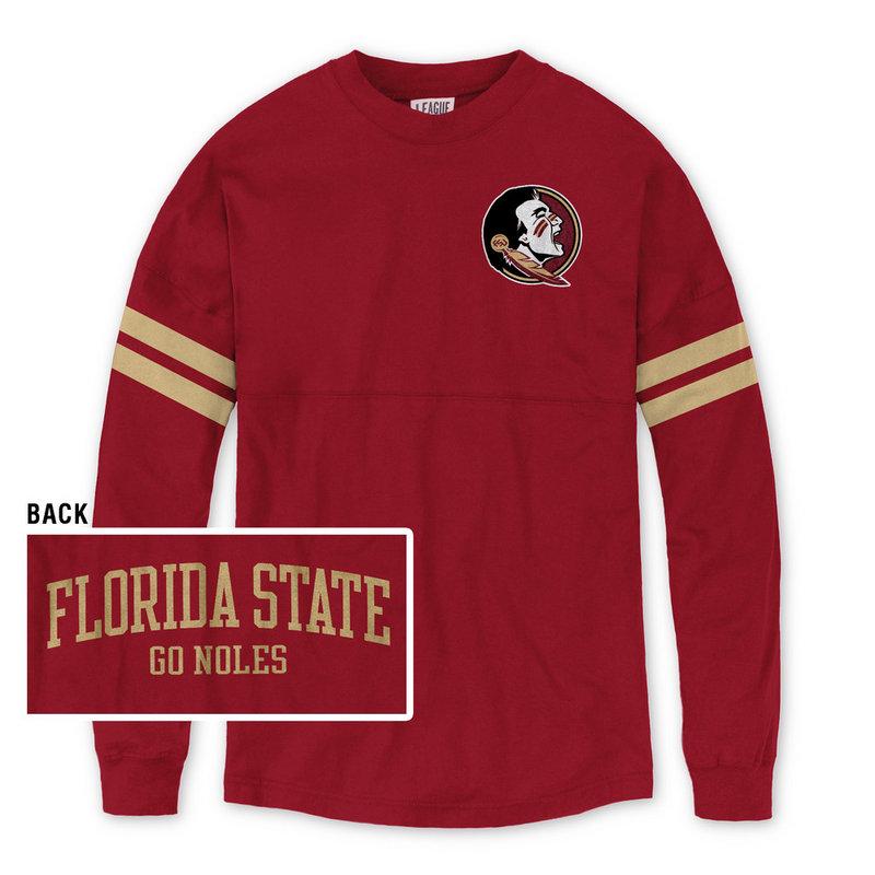 Florida State Seminoles Women's Long Sleeve Shirt Garnet