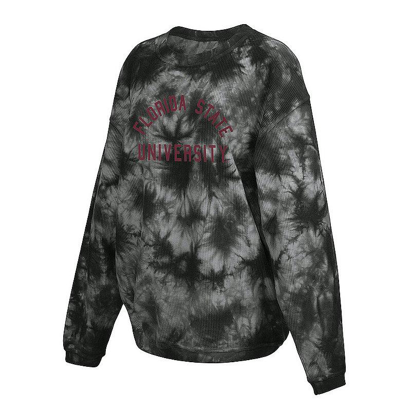 Florida State Seminoles Women's Tie-Dye Corded Crewneck Sweatshirt 443-49-FS521
