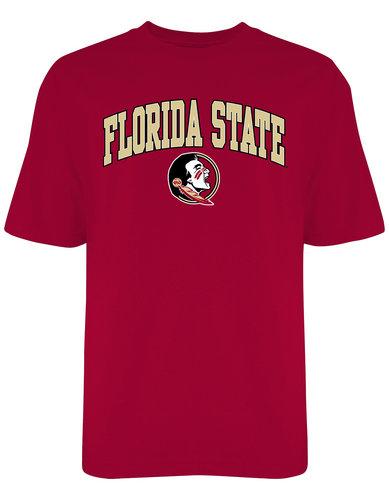 FSU Florida State Seminoles Mens TShirt Varsity Garnet