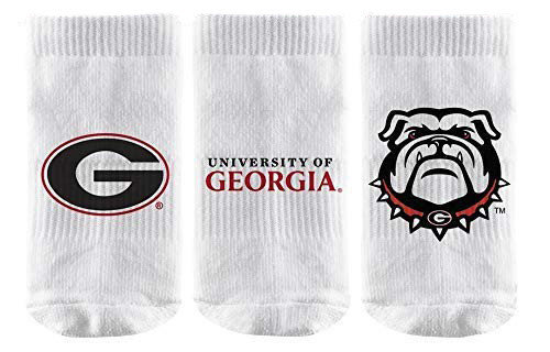 Georgia Bulldogs Baby Socks 3-Pack