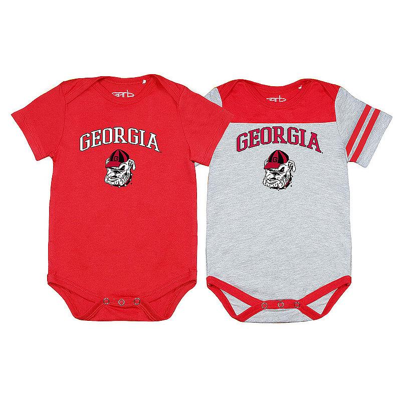 Georgia Bulldogs Infant Onesie 2 Pack