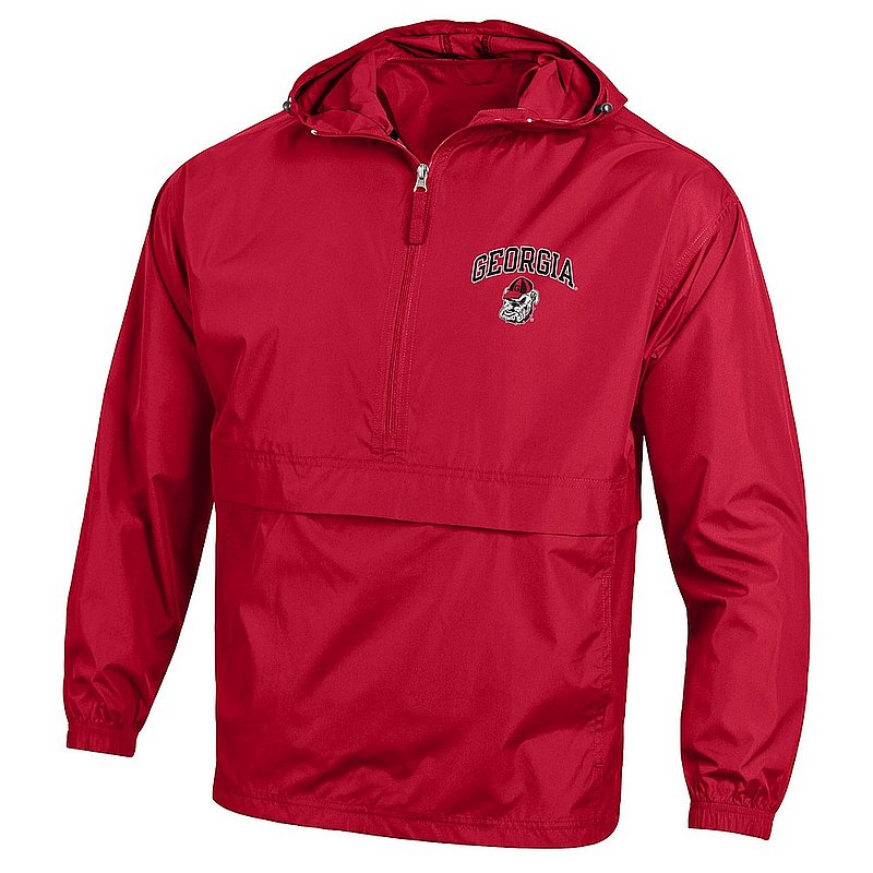Georgia Bulldogs Packable Jacket Red