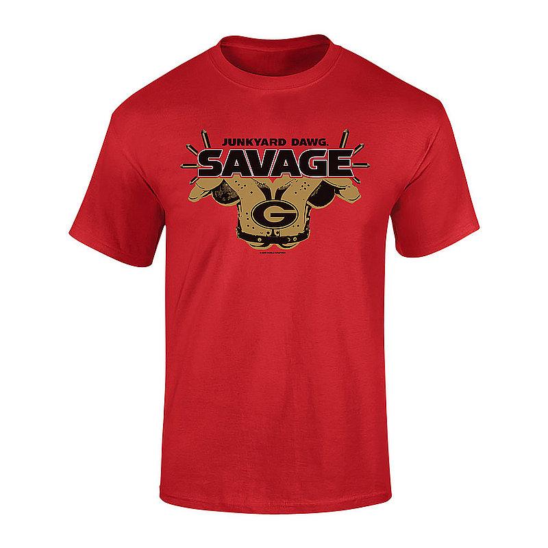 Georgia Bulldogs Savage TShirt Red