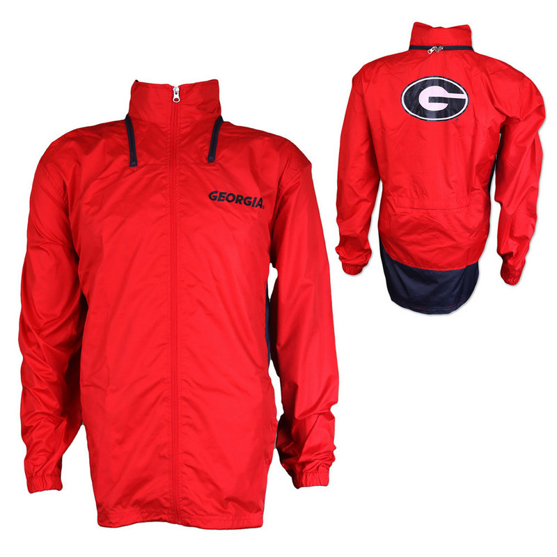 Georgia Bulldogs Stealth Ful Zip Pack Jacket Away Red/Black K 80NXE 73