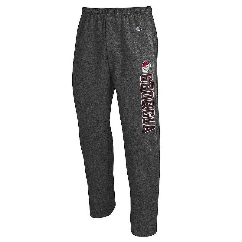 Georgia Bulldogs Sweatpants Pockets Charcoal APC02964373