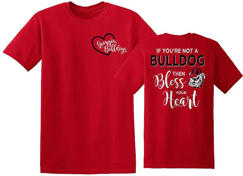 Georgia Bulldogs Tshirt Bless Your Heart UGABlessYourHeartOL