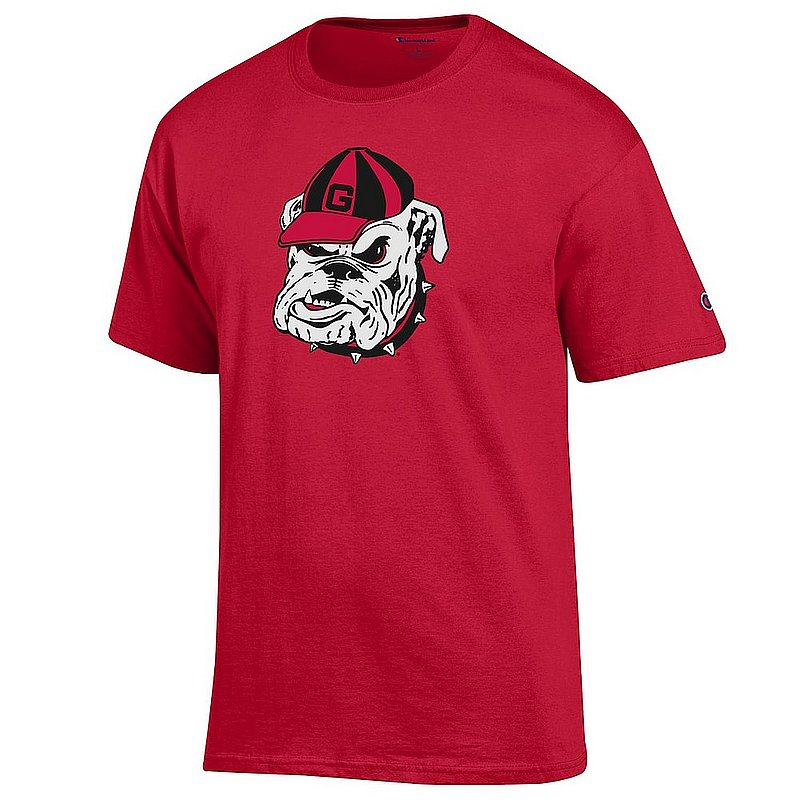 Georgia Bulldogs Tshirt Icon Red APC03004862