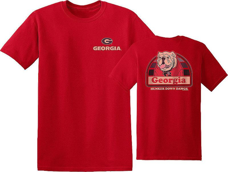 Georgia Bulldogs Tshirt Portrait