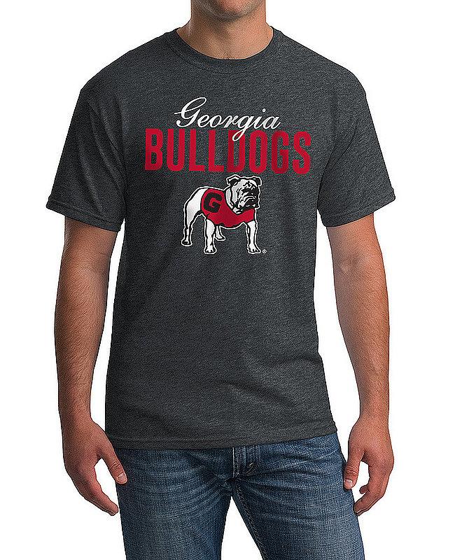 Georgia Bulldogs Tshirt Varsity Charcoal Dawgs APC02966870