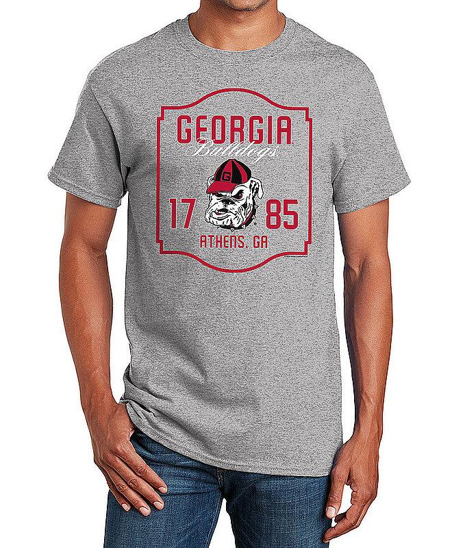 Georgia Bulldogs TShirt Varsity Gray APC02982436