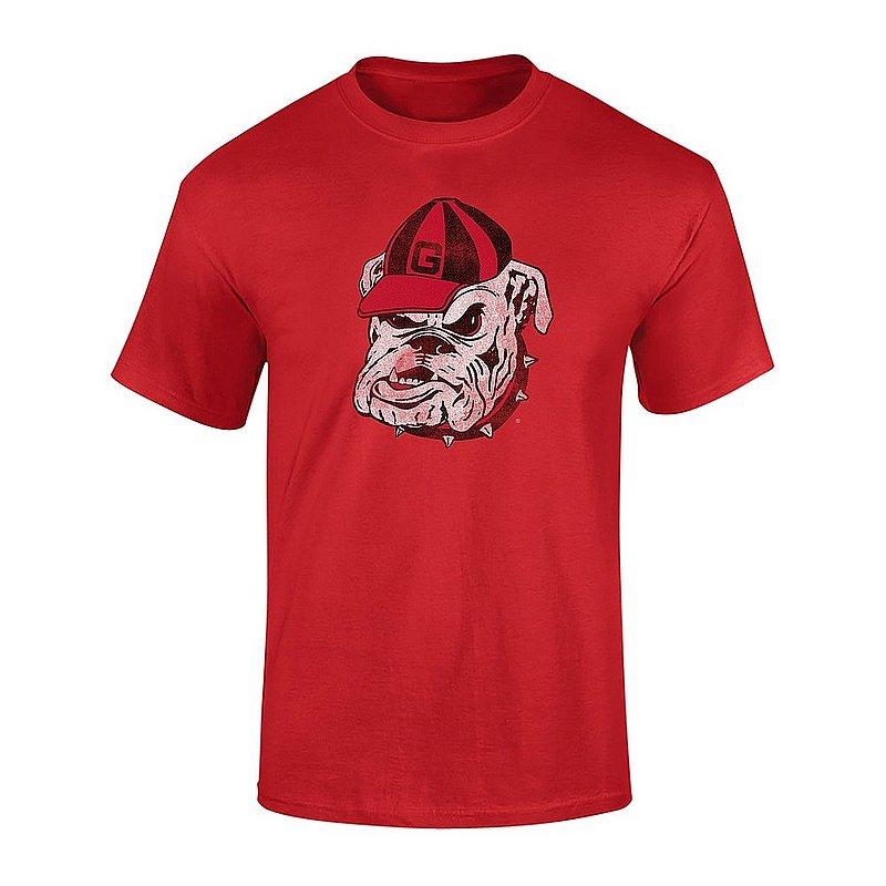 Georgia Bulldogs Tshirt Vintage Icon Red UGACHSC3116 APC03367283