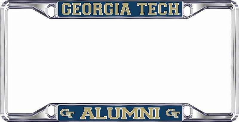 Georgia Tech Yellow Jackets License Plate Frame Alumni 18207