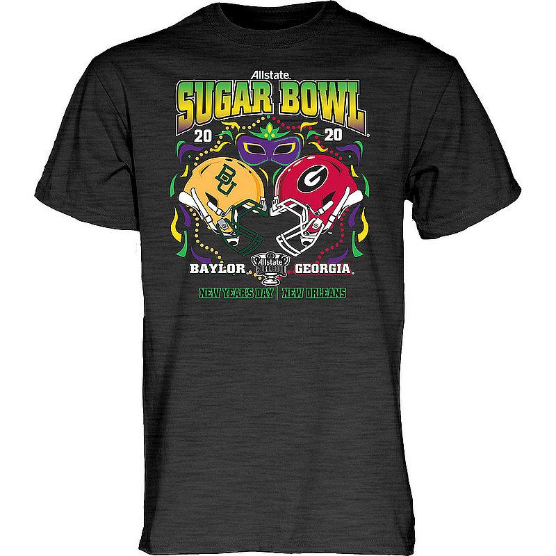 Georgia vs Baylor Sugar Bowl Tshirt 2020 SLUSHY-2T_BHN4P_SGB19_TSGI_DARK-HEATHER