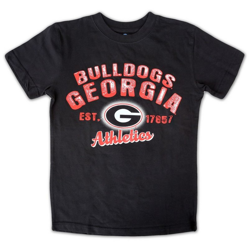 Georiga Bulldodgs Kids TShirt Black