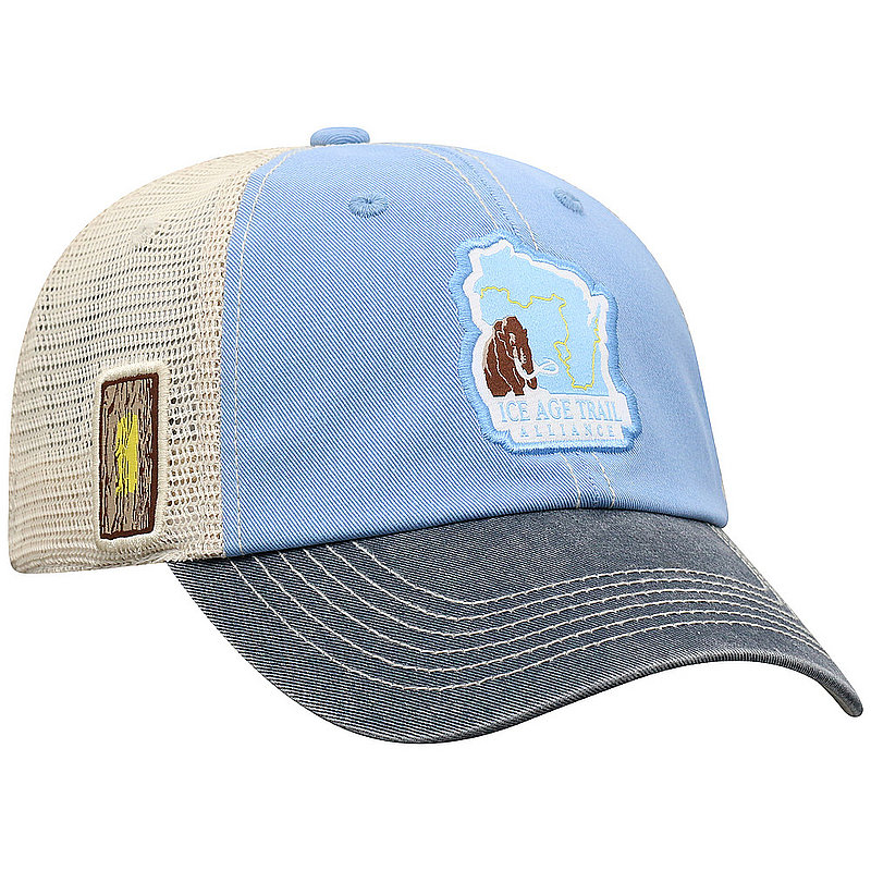 Ice Age Trail Adjustable 3-Tone Mesh Hat OFFR4-IATA-ADJ-3TN