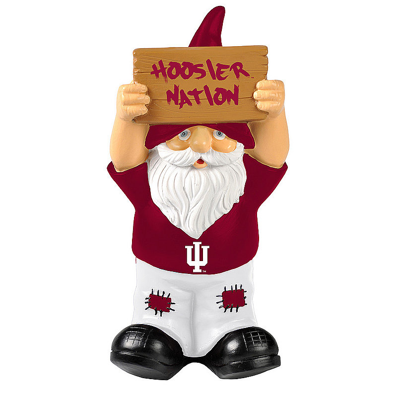 Indiana Hoosiers Garden Gnome GN8NCSLOSIGNIN