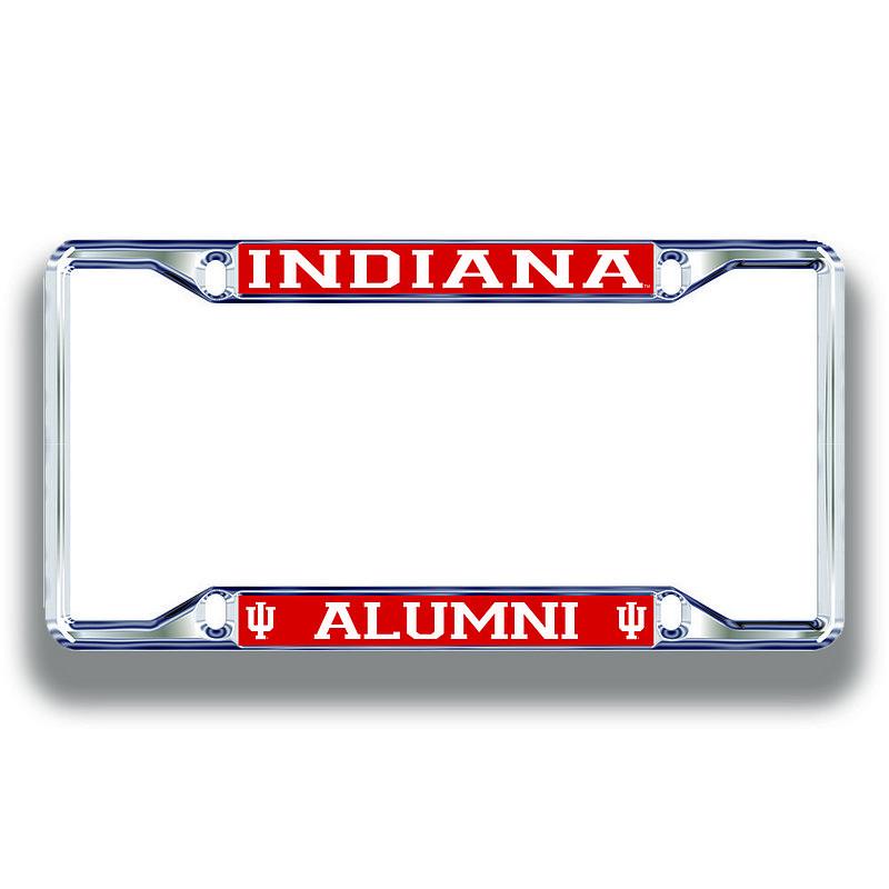 Indiana Hoosiers License Plate Frame Alumni 15651