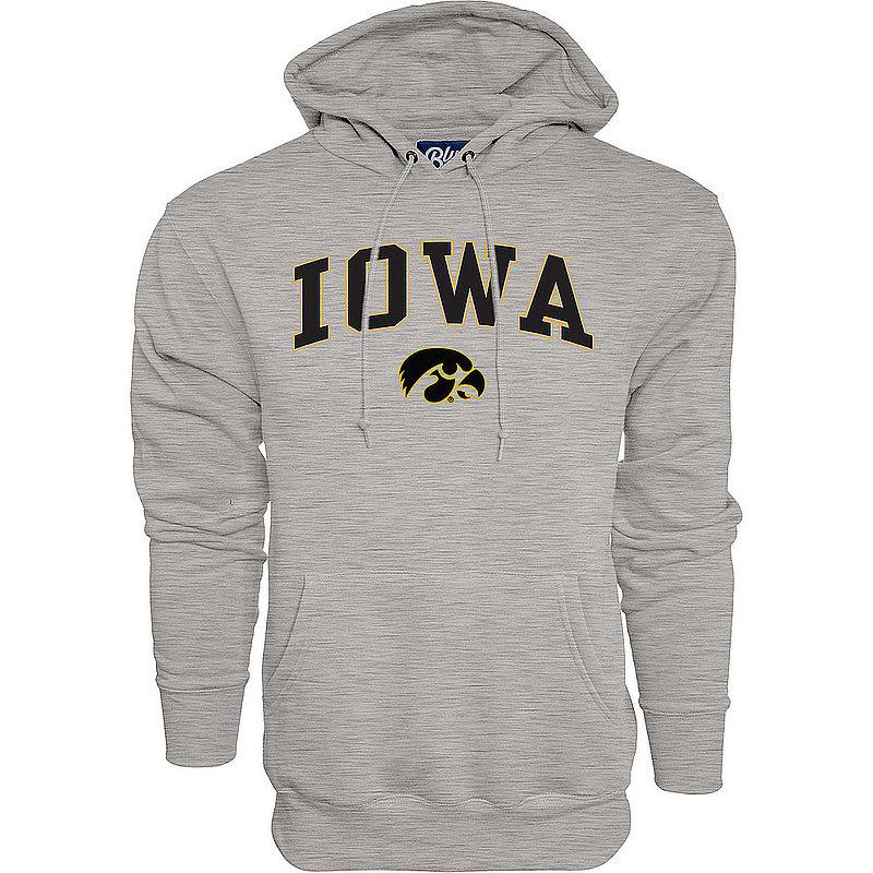 Iowa Hawkeyes Hooded Sweatshirt Varsity Gray Arch Over 00000000BCR5R