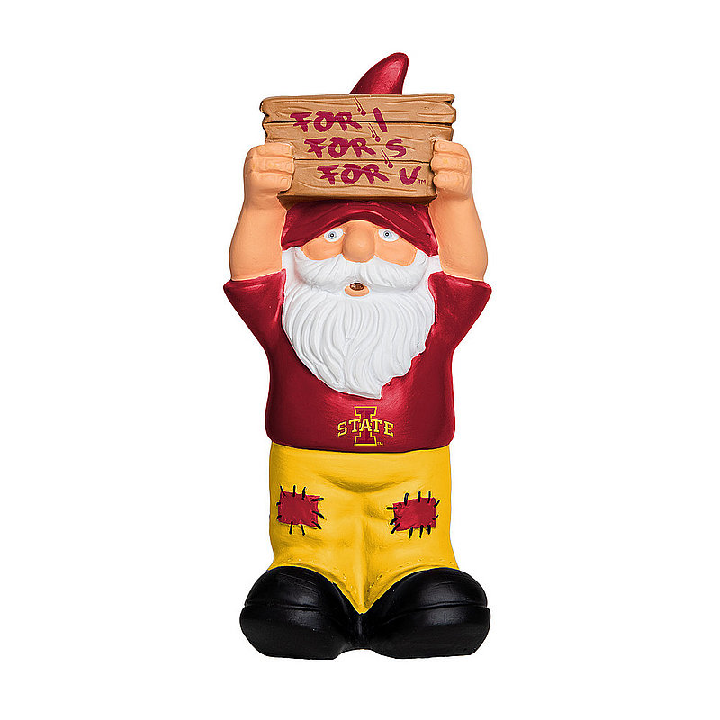 Iowa State Cyclones Garden Gnome GN8NCSLOSIGN2IOS