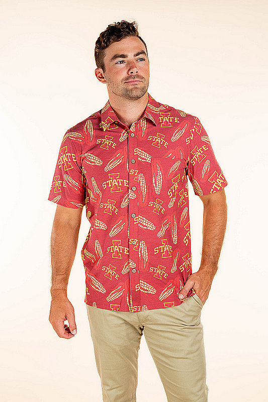 Iowa State Cyclones Hawaiian Shirt MPL-SRWQ319-LS1698