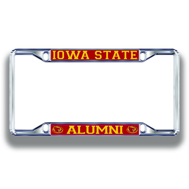 Iowa State Cyclones License Plate Frame Alumni 13666