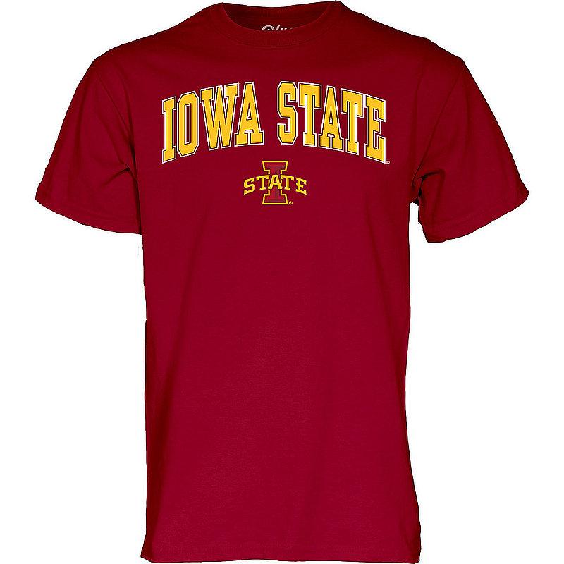 Iowa State Cyclones Tshirt Varsity Cardinal Arch Over APC02971700*