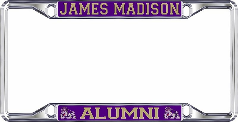 James Madison Dukes License Plate Frame Alumni 24873
