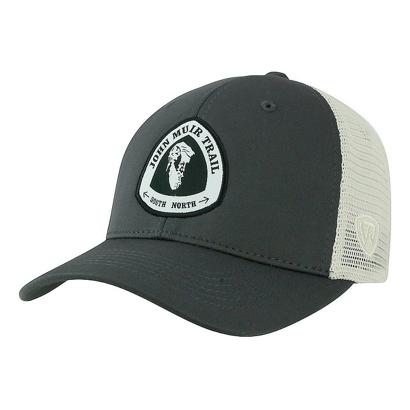 John Muir Trail Adjustable Charcoal Hat RANG1-JMT-ADJ-2TN